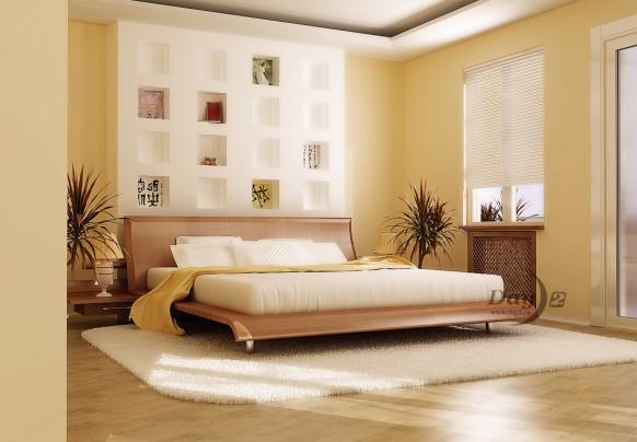 Chọn gạch lát nền cho phòng ngủ thêm ấm áp