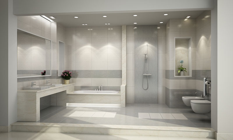 chọn gạch cho phòng tắm