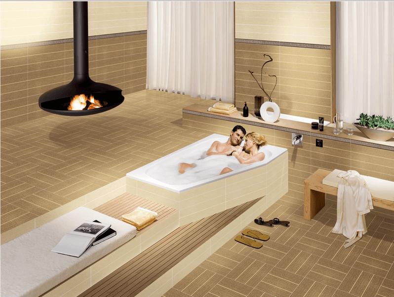 Chọn gạch ốp lát Đồng Tâm tô điểm phòng tắm hiệu quả