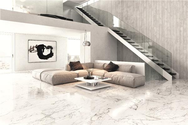 Lợi ích và chọn gạch ốp lát phòng khách đẹp, sang trọng 2