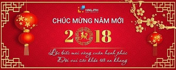 thông báo lịch nghỉ tết 2018