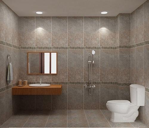 Bỏ túi 5 nguyên tắc lựa chọn gạch ốp tường cho nhà vệ sinh