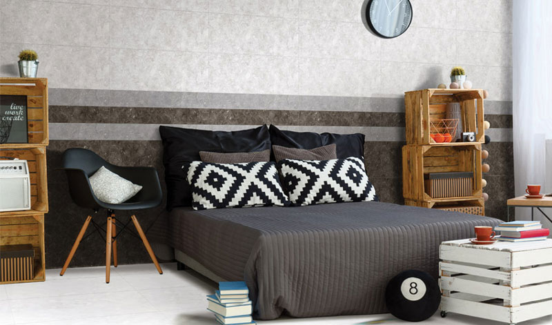 Mẫu gạch ốp tường phòng ngủ Đồng Tâm cao cấp