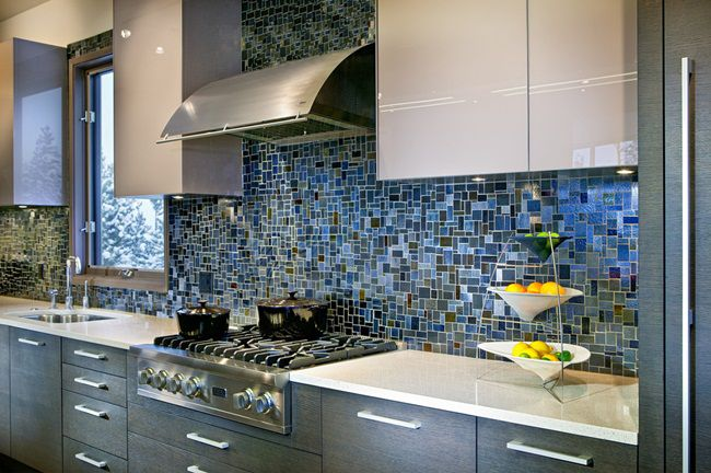gạch mosaic ốp bếp
