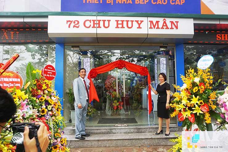 Giới thiệu showroom 72 Chu Huy Mân và cách di chuyển tới