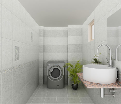 Mẫu gạch lát nền nhà tắm để ốp ngang hoặc ốp dọc