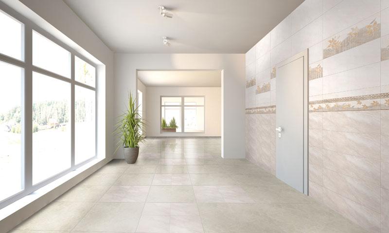 cách phối màu gạch ốp cho phòng khách thêm ấn tượng