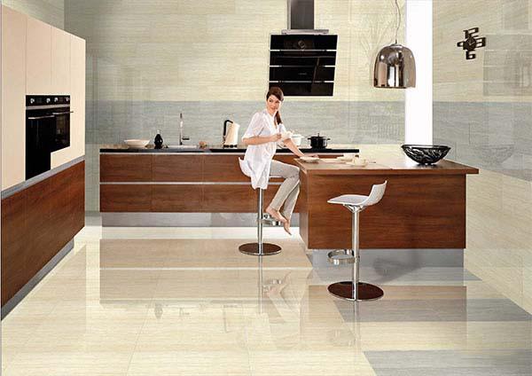 Gạch vân gỗ 600x600 TKG P67206N mang vẻ đẹp lôi cuốn, tạo nên chấm phá nổi bật cho không gian sử dụng