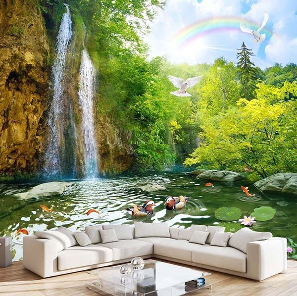 Gạch ốp tường tranh đẹp là gì