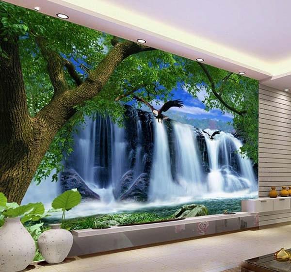 gạch tranh ốp tường có hình ảnh sống động