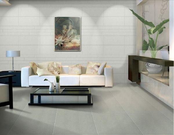 Giải mã sức hút của gạch ốp tường phòng khách màu trung tính?