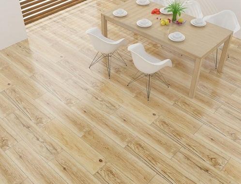 Gạch lát nền giả gỗ có những đặc điểm gì và hợp với gia chủ mệnh nào?