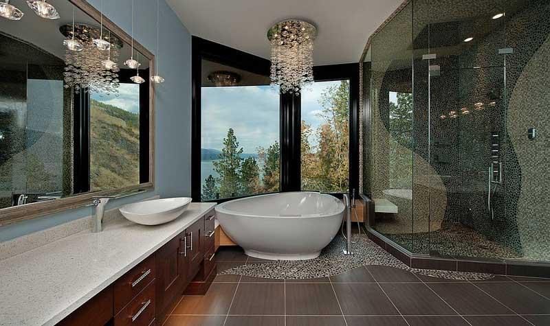 Chọn gạch ốp lát cho nhà tắm cần lưu ý điều gì?