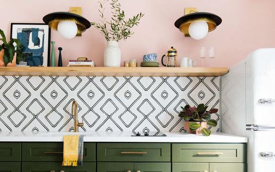 Chọn lựa kích thước gạch ốp tường bếp