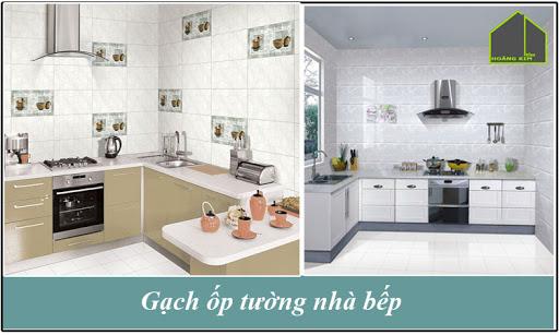 Chọn gạch ốp tường bếp đẹp đúng chuẩn