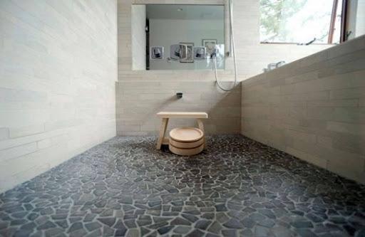 Chọn gạch trơn bóng cho nhà tắm