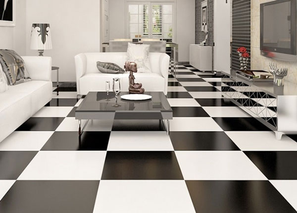 Top mẫu gạch lát nền đen trắng đẹp và 4 nguyên tắc vàng cần nhớ 1