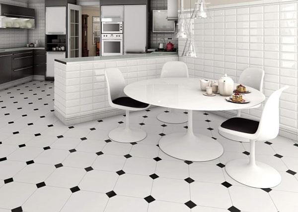Top mẫu gạch lát nền đen trắng đẹp và 4 nguyên tắc vàng cần nhớ