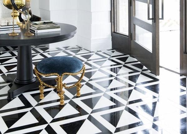 Top mẫu gạch lát nền đen trắng đẹp và 4 nguyên tắc vàng cần nhớ 14