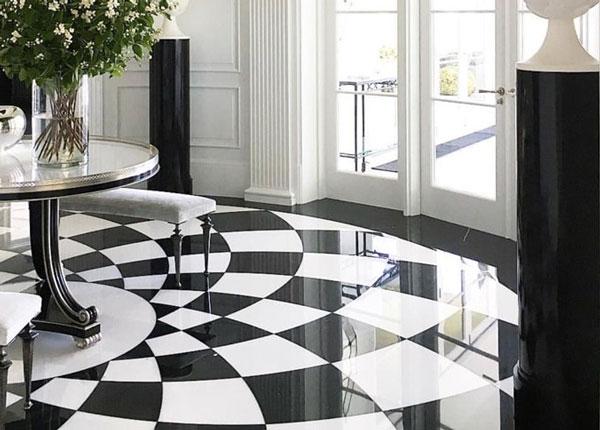 Top mẫu gạch lát nền đen trắng đẹp và 4 nguyên tắc vàng cần nhớ 19