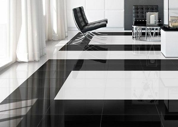 Top mẫu gạch lát nền đen trắng đẹp và 4 nguyên tắc vàng cần nhớ 9
