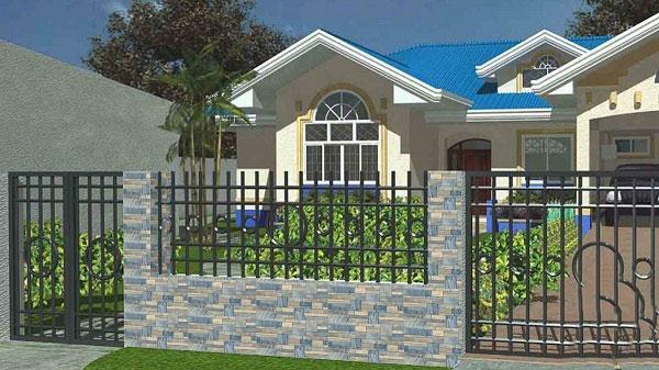TOP mẫu gạch ốp tường ngoại thất đẹp mỹ mãn nên chọn 2021 1