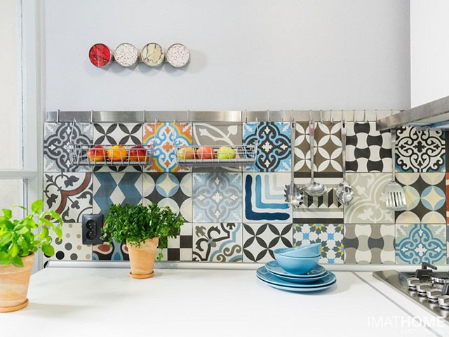 Điểm danh các mẫu gạch ốp tường bếp đẹp nhất 2021