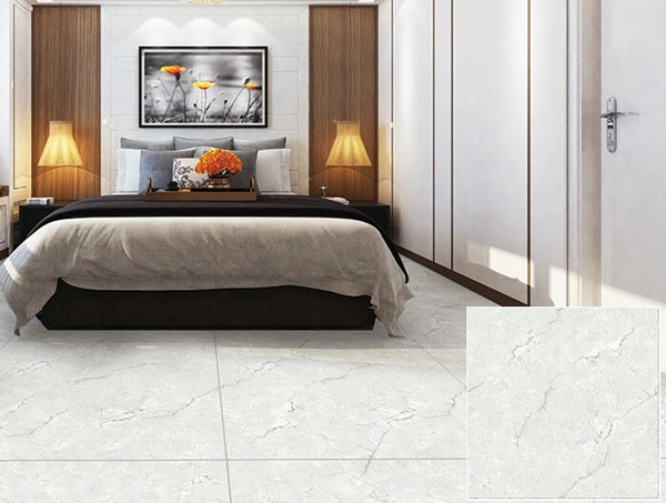 Điểm danh TOP mẫu gạch lát nền màu trắng xám đẹp xuất sắc nên chọn