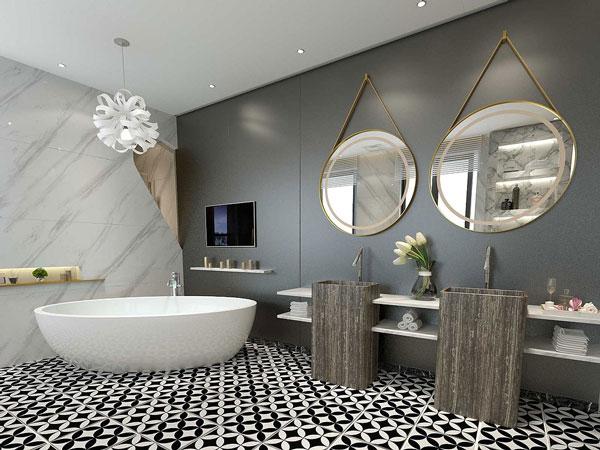 Lưu ý khi lựa chọn gạch lát nền nhà tắm chống trơn không thể bỏ qua